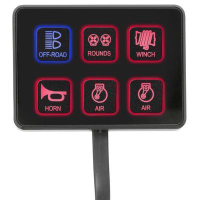 Pro Comp SS-6 Six-Way Universal Switch Panel - 76201