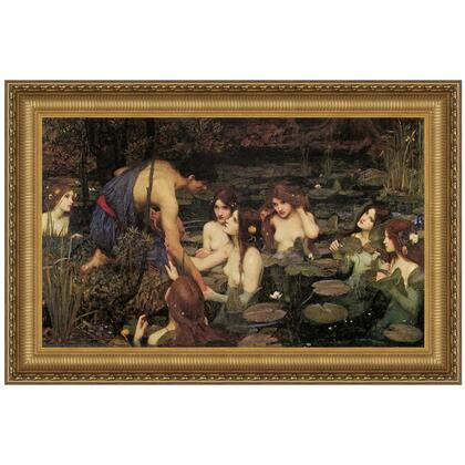 DA2751 19X13.5 Hylas And The Nymphs