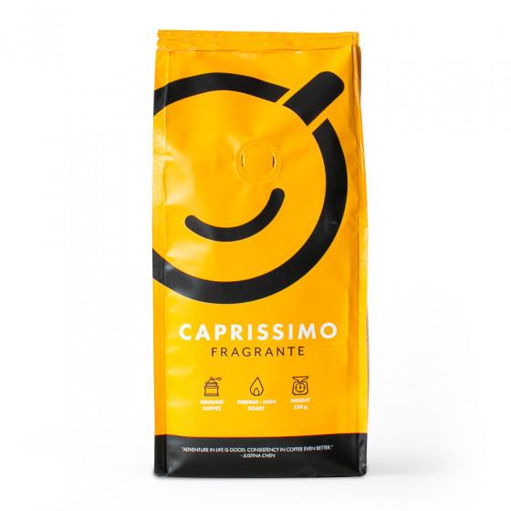 Ground coffee Caprissimo Fragrante, 250 g