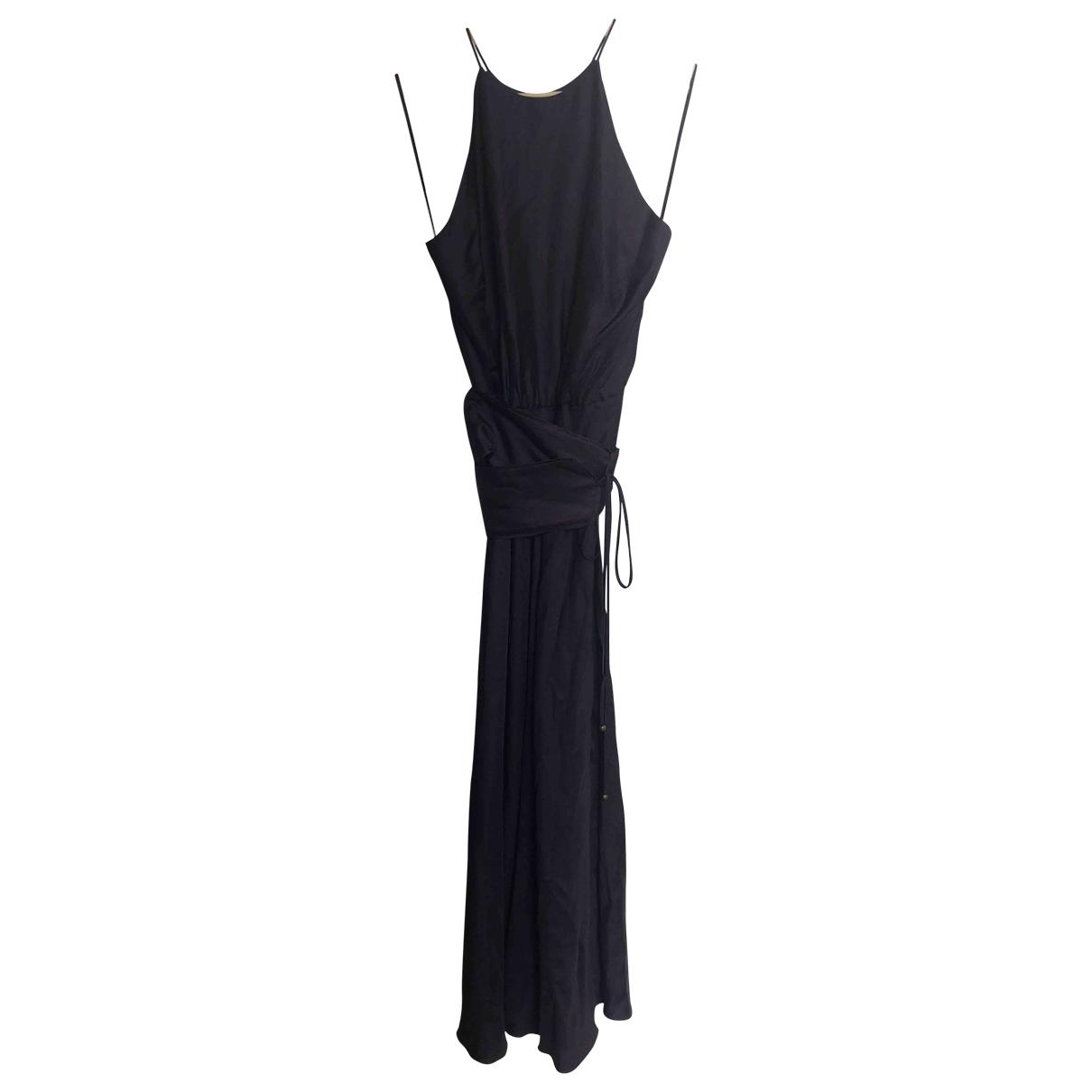 Zimmermann \N Kleid in  Marine Viskose