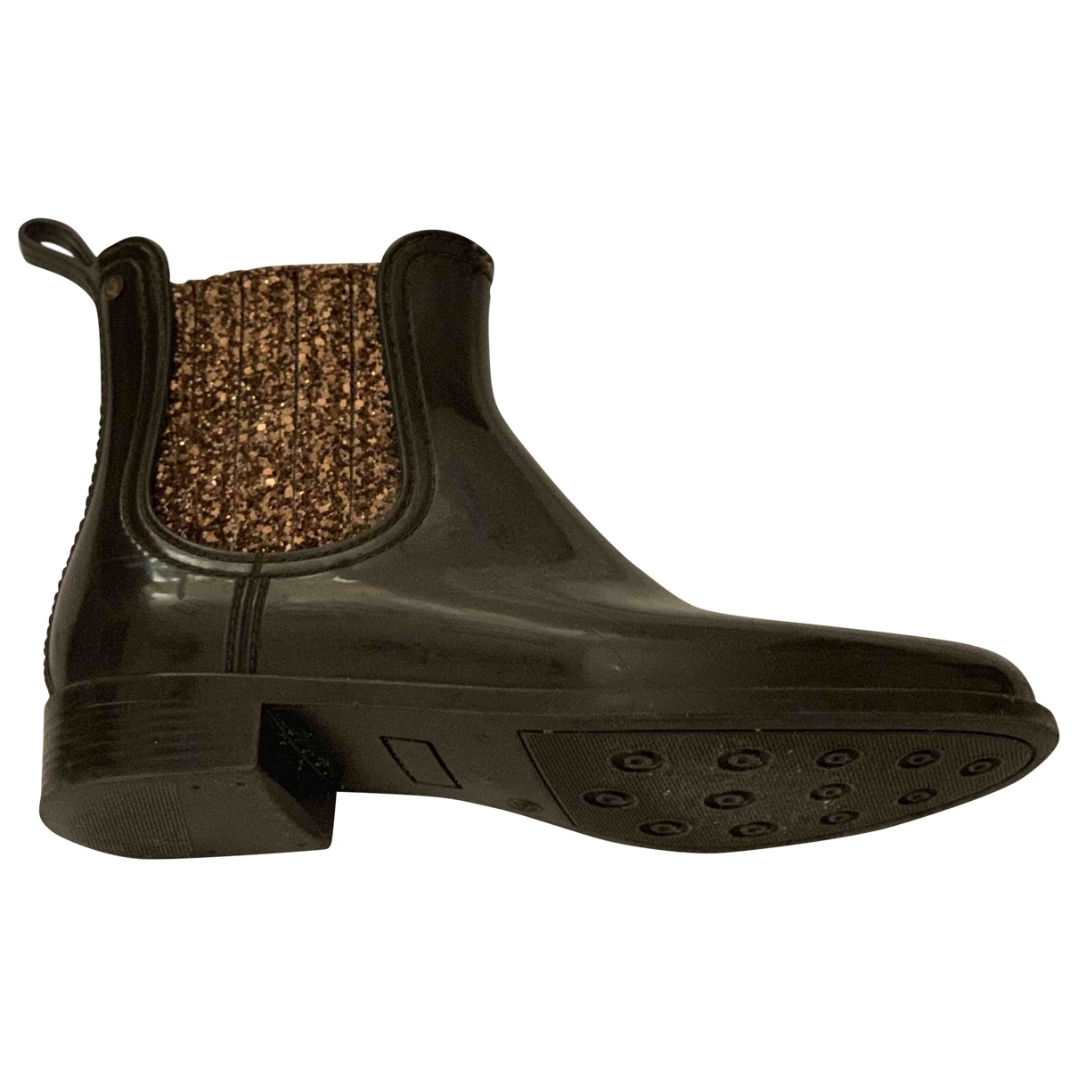Non Signé / Unsigned \N Brown Rubber Boots for Women 38 EU
