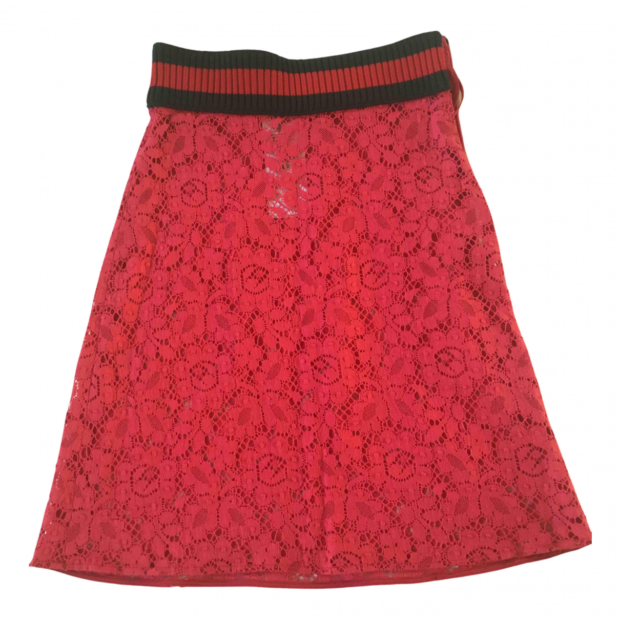 Gucci N Pink Silk skirt for Women 36 IT