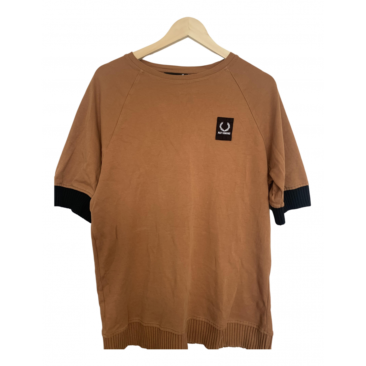 Fred Perry N Orange Cotton T-shirts for Men M International