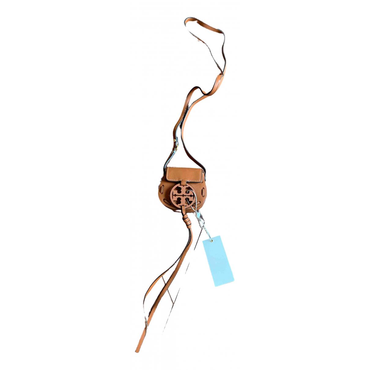 Tory Burch - Petite maroquinerie   pour femme en cuir - marron