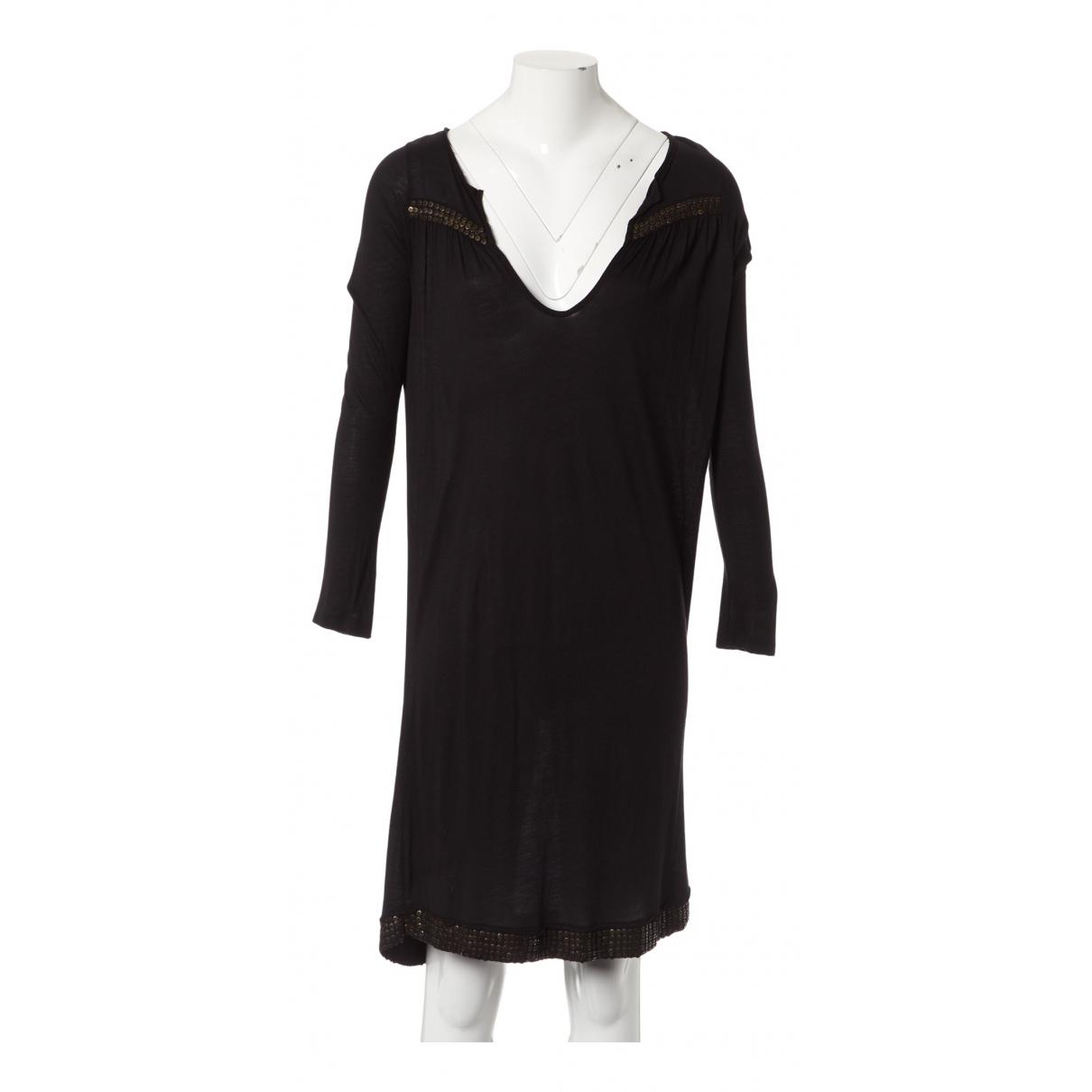 Zadig & Voltaire \N Kleid in  Schwarz Synthetik
