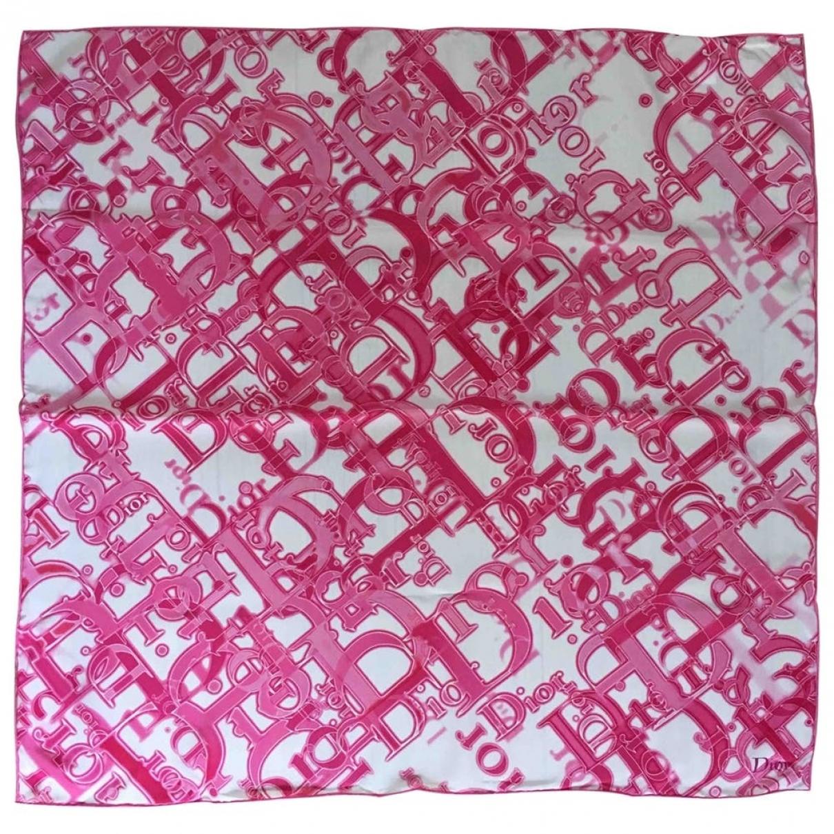 Dior - Carre   pour femme en soie - rose