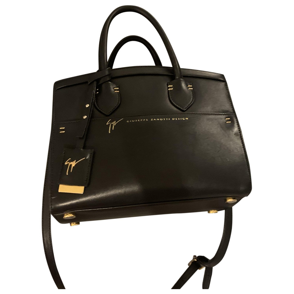 Giuseppe Zanotti \N Black Leather handbag for Women \N