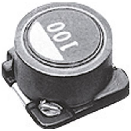 TDK Shielded Wire-wound SMD Inductor 15 μH ±20% Wire-Wound 1.1A Idc (10)