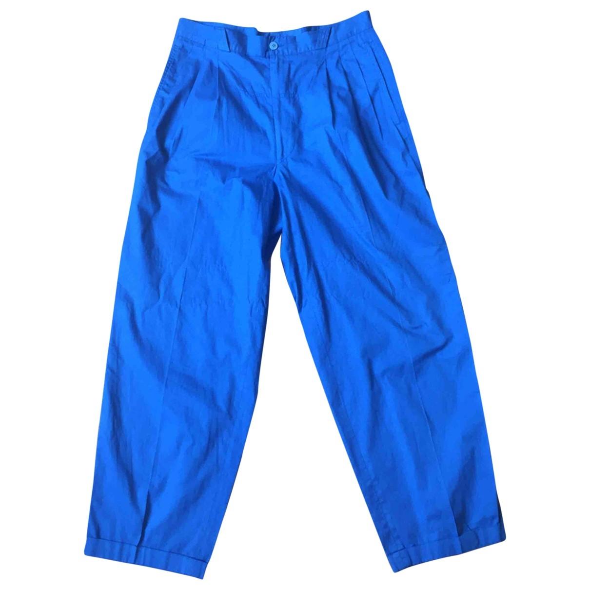 Valentino Garavani \N Cotton Trousers for Men 48 IT