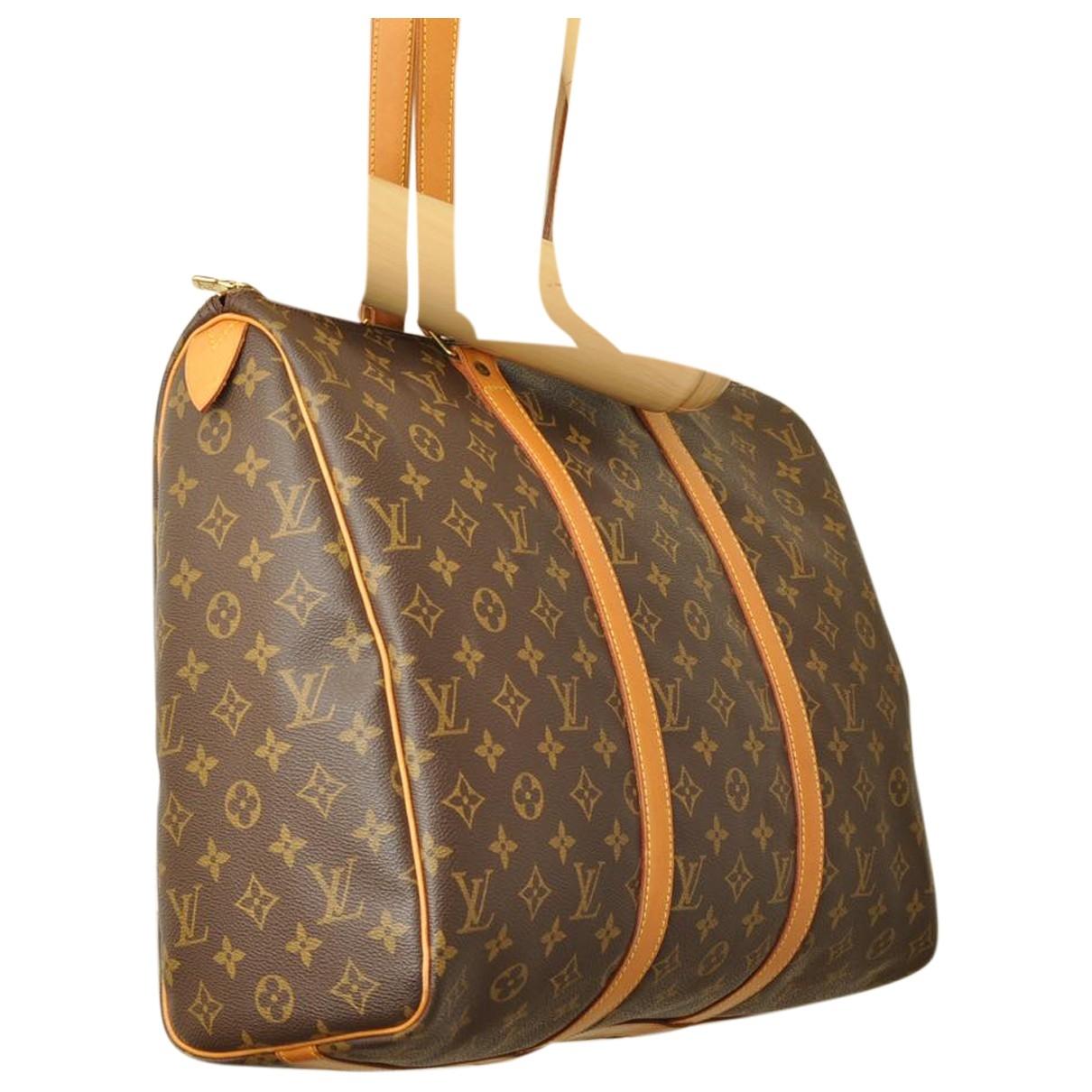 Louis Vuitton Flanerie Brown Cloth Travel bag for Women \N