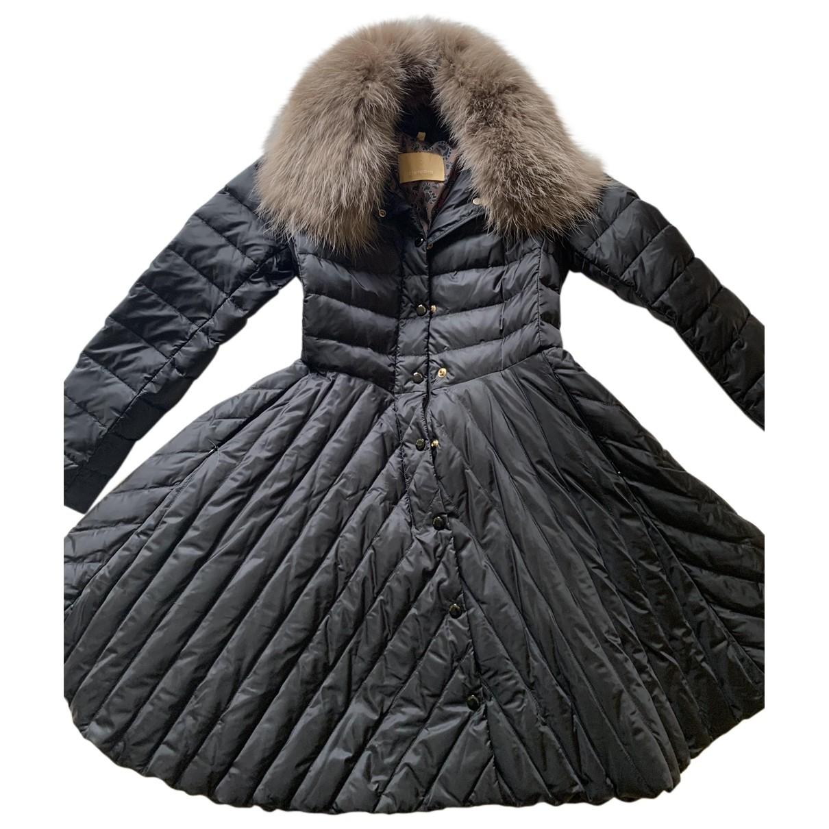 Non Signé / Unsigned N Black coat for Women 42 IT