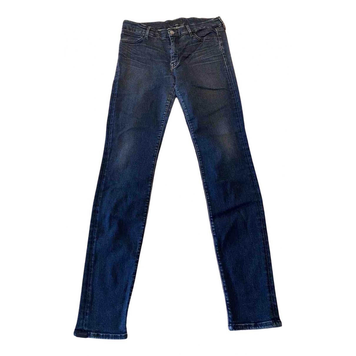 Koral N Blue Cotton - elasthane Jeans for Women 31 US