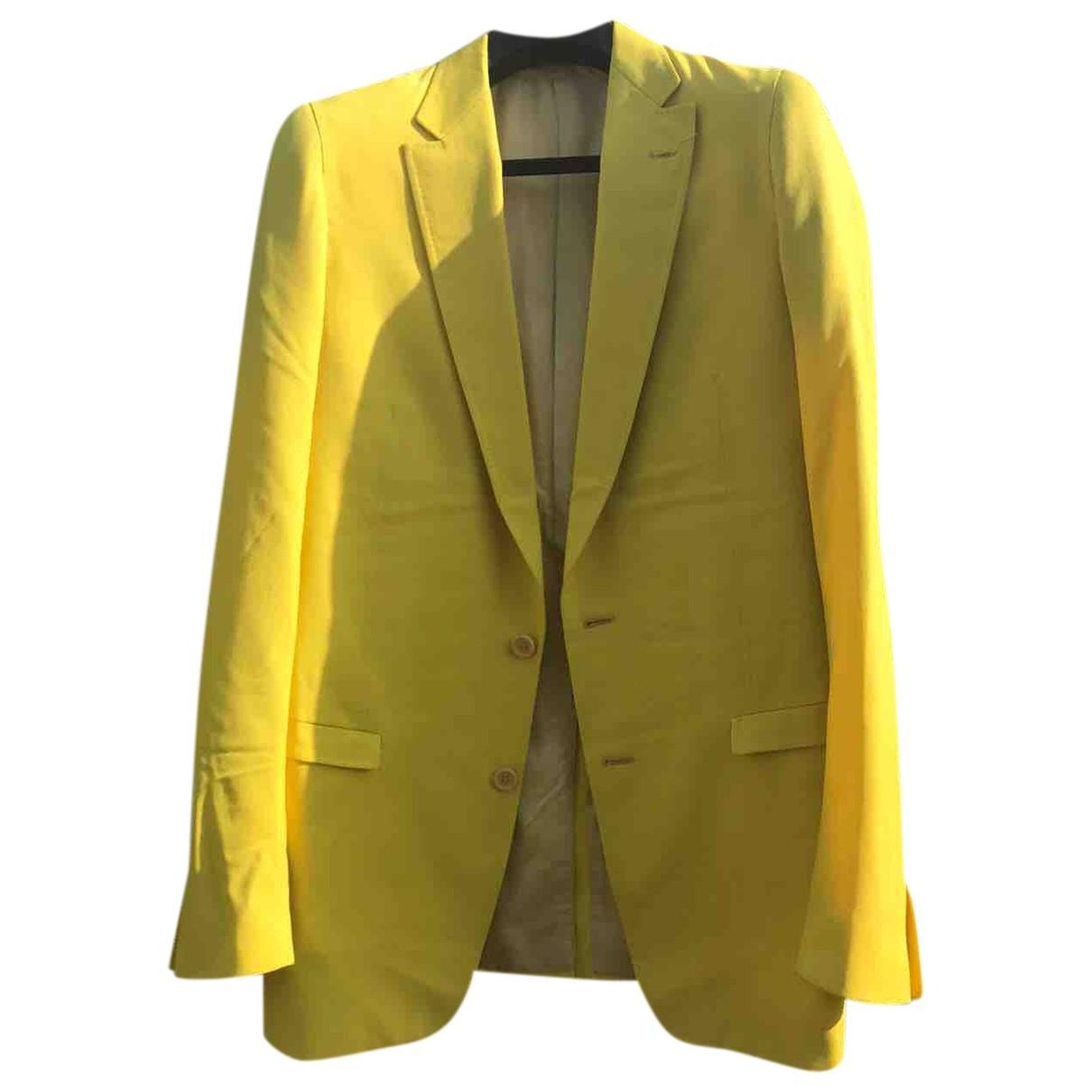 Carol Christian Poell \N Anzuege in  Gelb Wolle