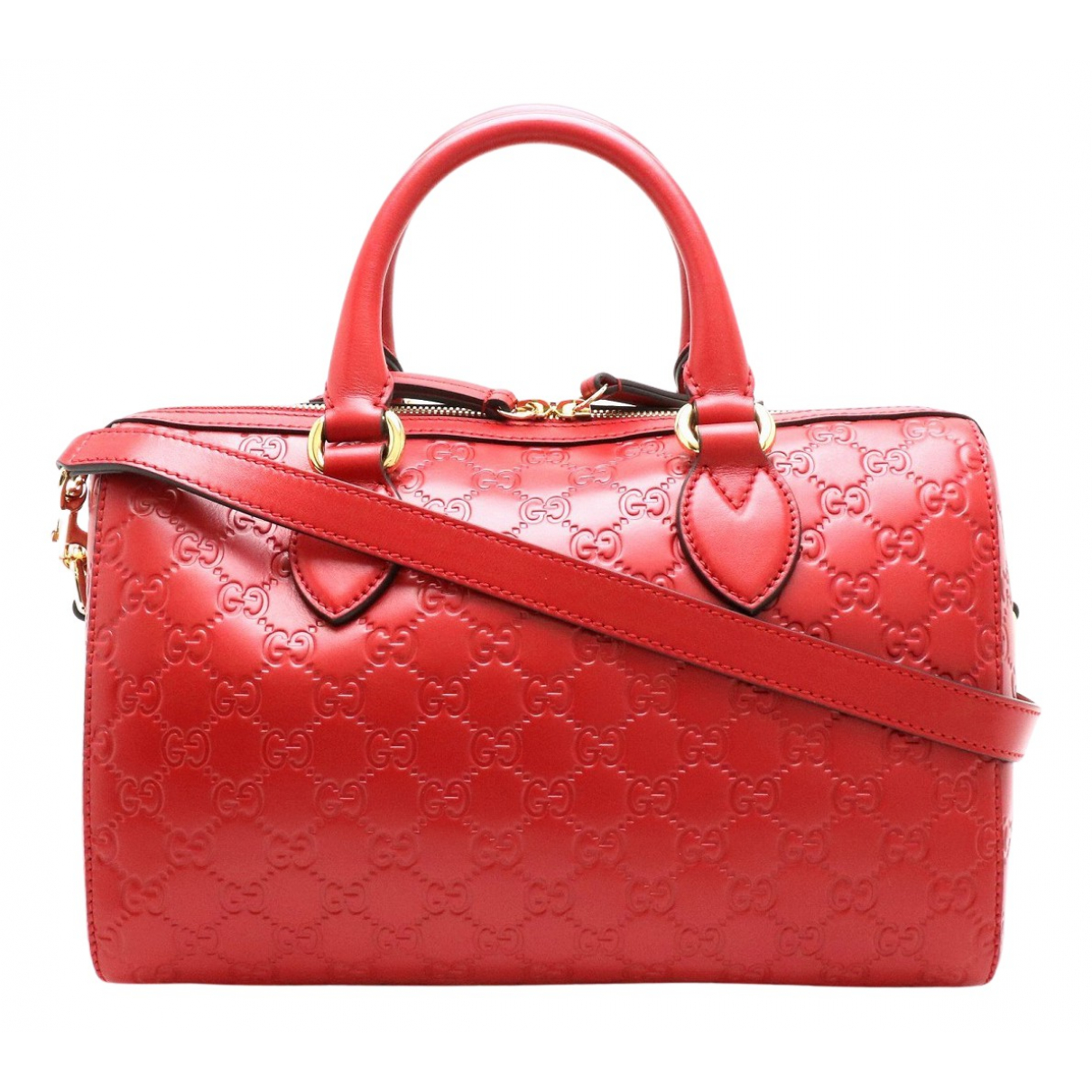 Gucci N Red Leather handbag for Women N