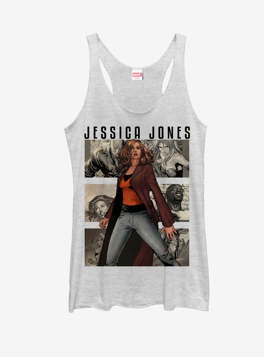 Marvel Jessica Jones Panels Womens Tank