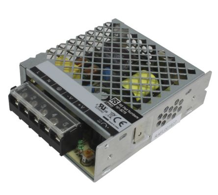 RS PRO , 50W Embedded Switch Mode Power Supply SMPS, 5V dc, Enclosed