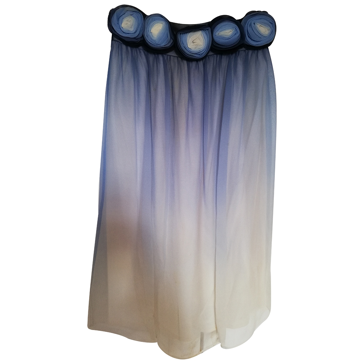 Alice & Olivia - Robe   pour femme en soie - bleu