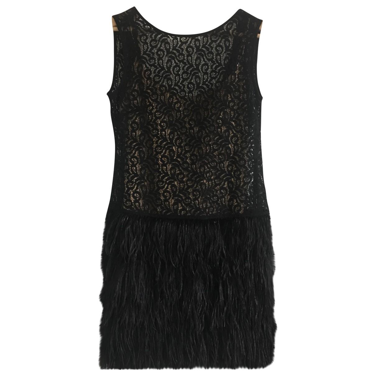 Mini vestido de Encaje Zara