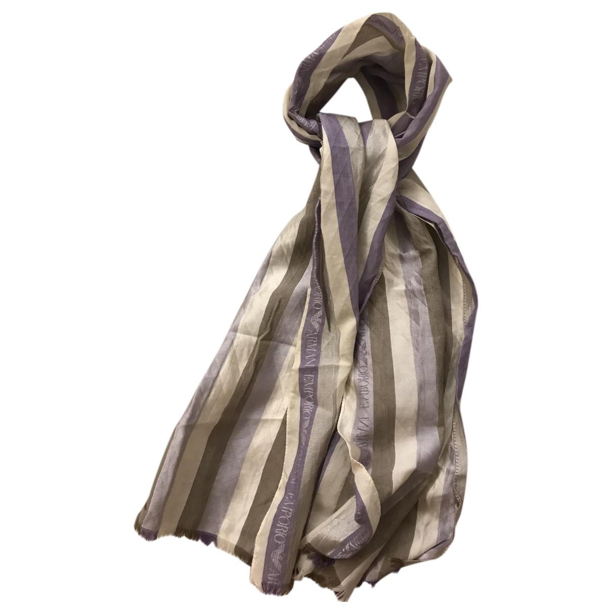 Emporio Armani N Multicolour Silk scarf for Women N