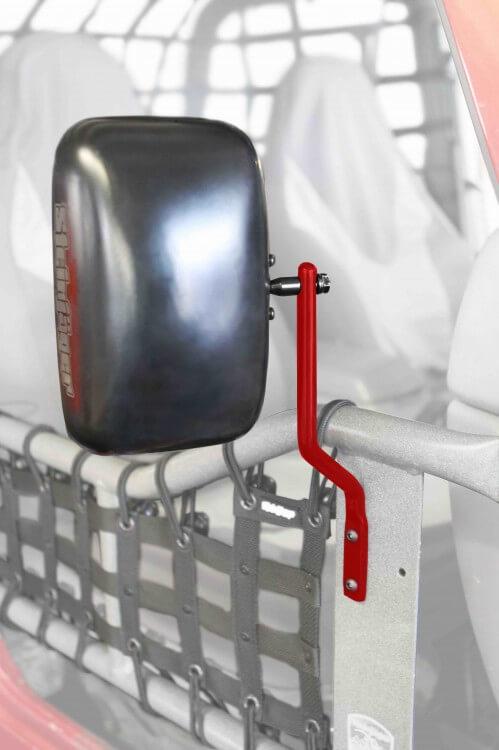 Steinjager J0043908 Mirror Kit, Tube Doors Wrangler YJ 1997-2006 Red Baron