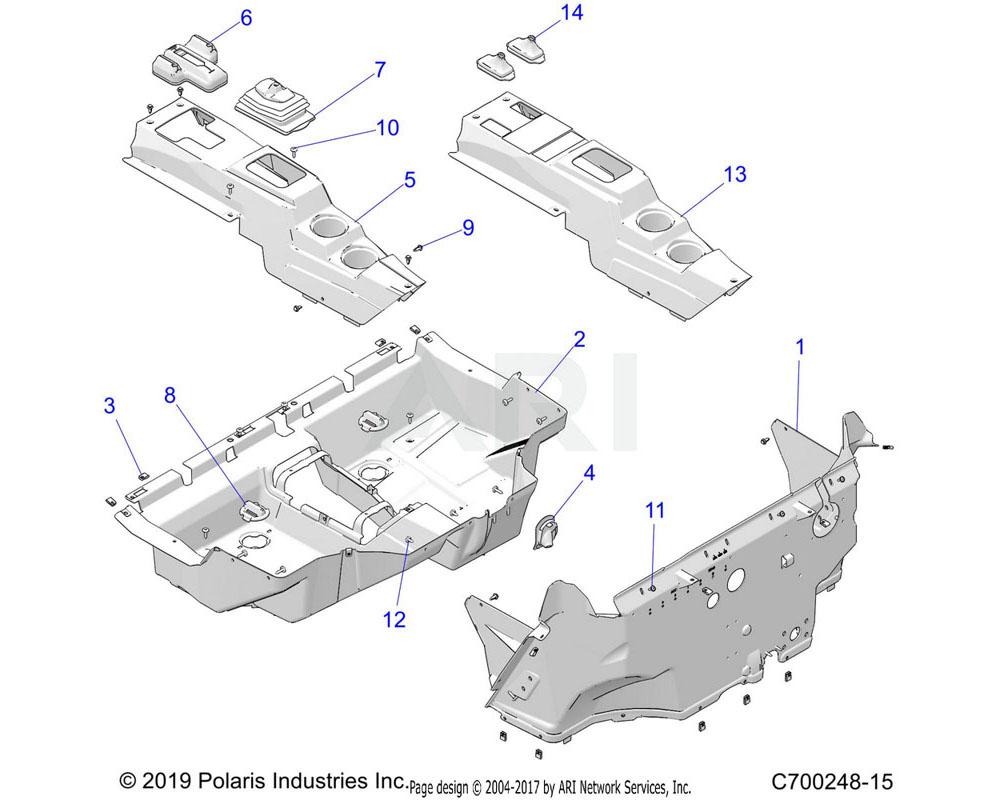 Polaris OEM 5456302-070 CONSOLE, EU, SEATBELT, WARN, BLK | [E99FC][S99CC][S99FC][INCL. WARNING DECAL]