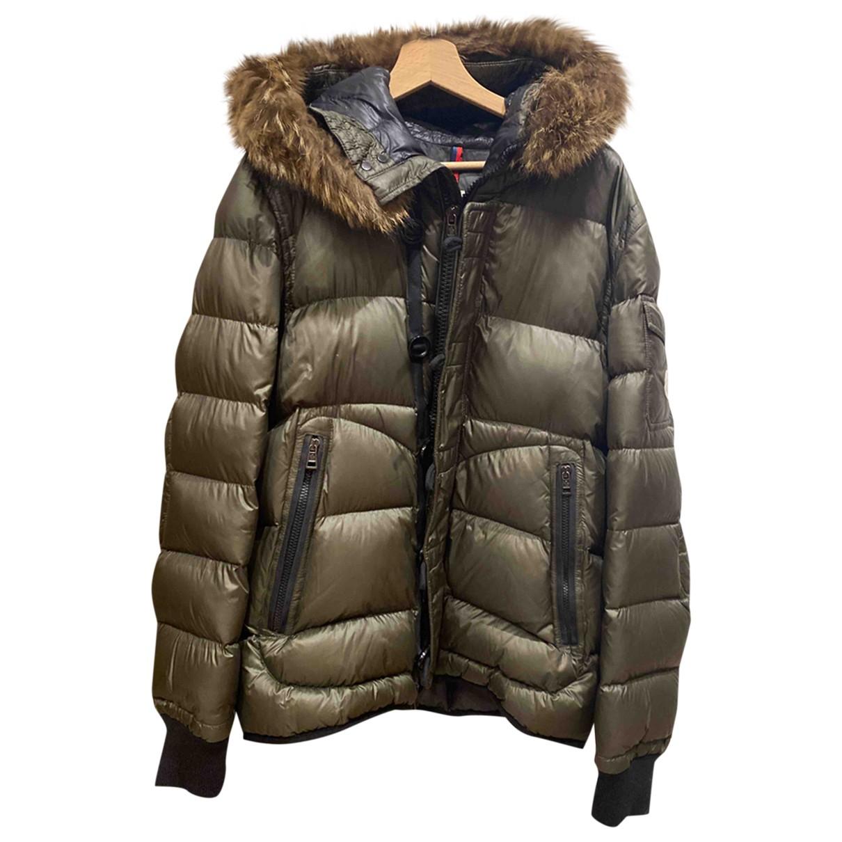 Moncler - Manteau   pour homme - vert