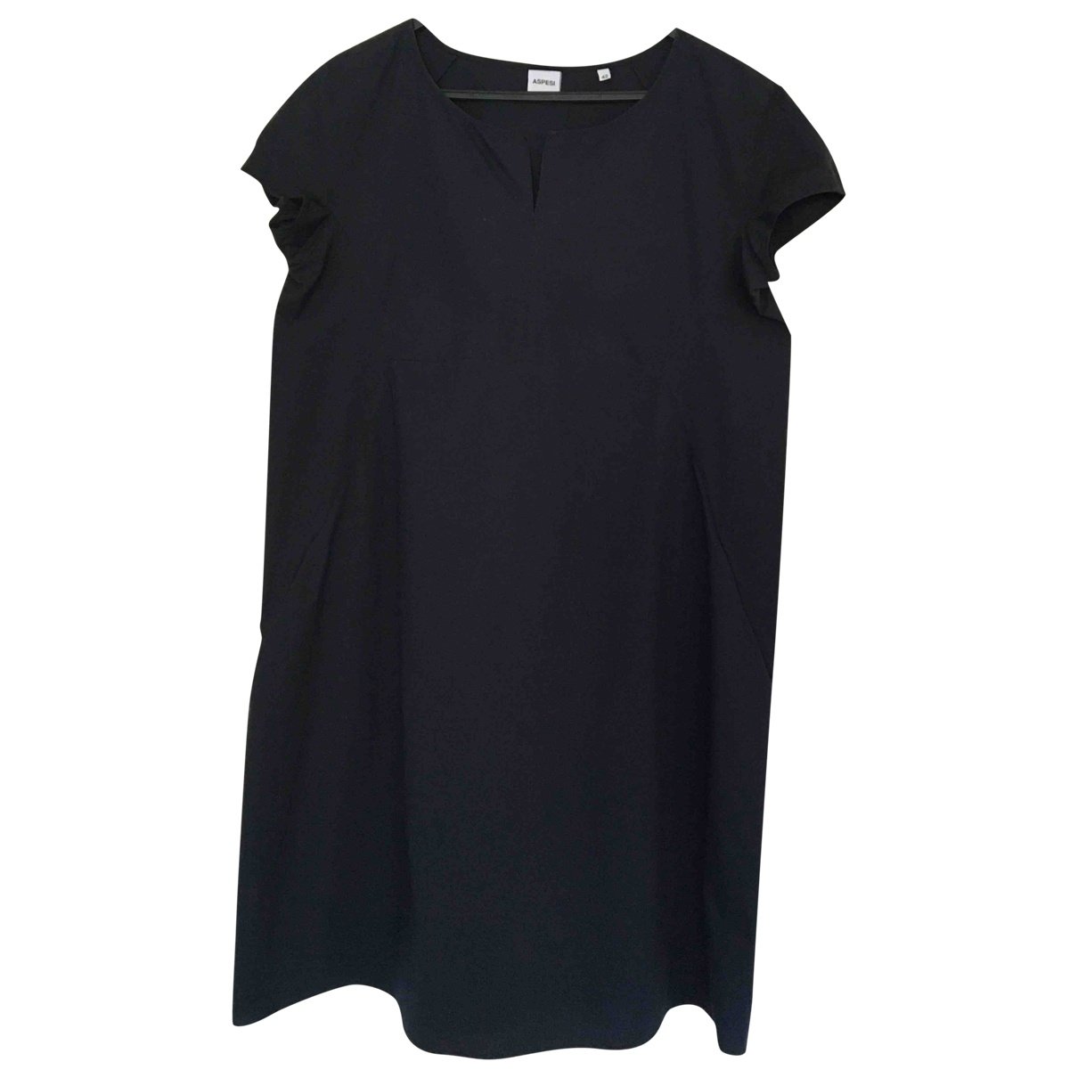 Aspesi - Robe   pour femme en coton - bleu