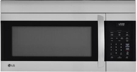 LMV1764ST Stainless Steel Over the Range Microwave with 1.7 cu. ft. Capacity  300 CFM  Easy Clean Interior and White LED