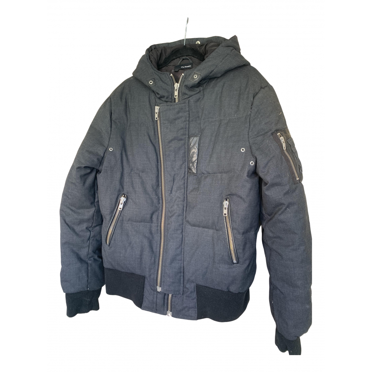 The Kooples N Grey Cotton coat for Women 40 FR