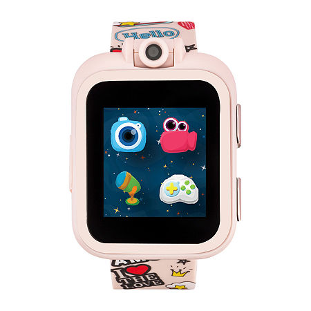 Itouch Playzoom Girls Pink Smart Watch-13463m-51-Pnp, One Size , No Color Family