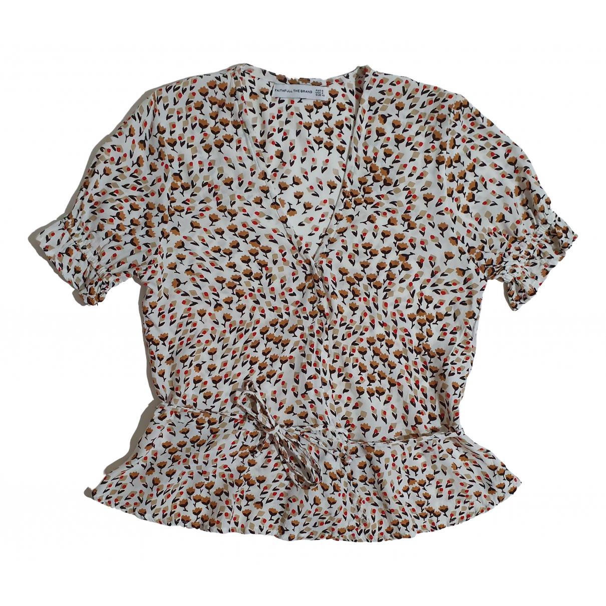Faithfull The Brand \N Multicolour Silk  top for Women XS International