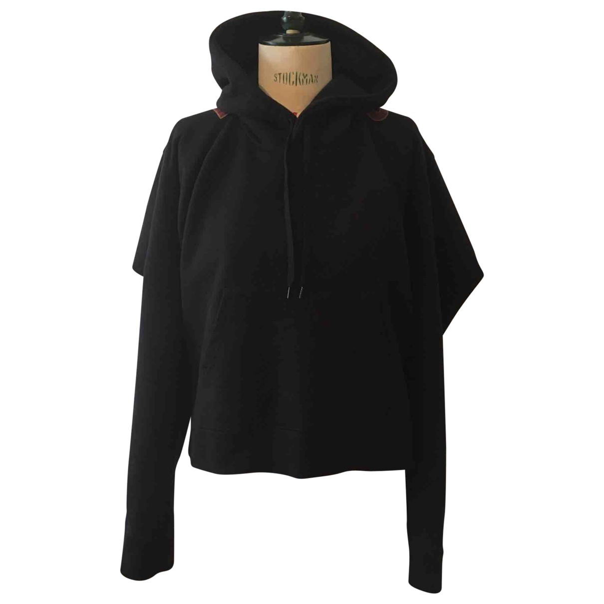 Vetements \N Pullover in  Schwarz Baumwolle