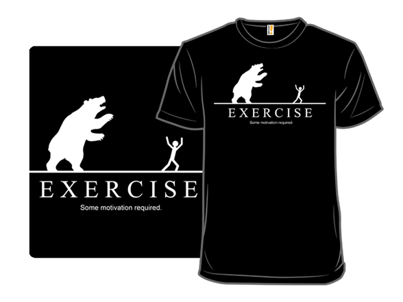 Some Motivation Required Bear Remix T Shirt