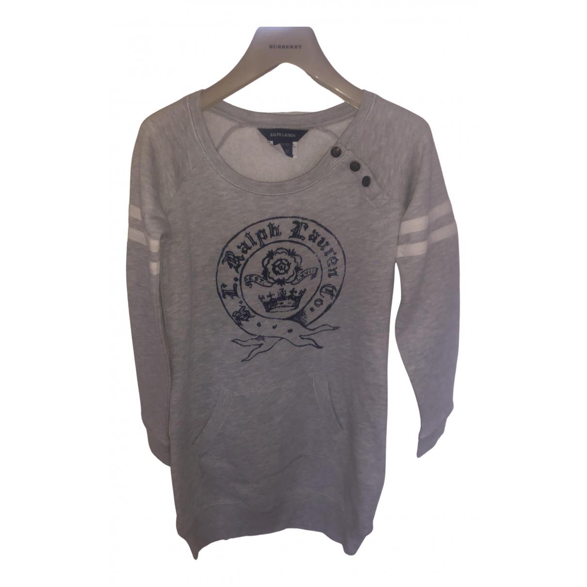 Ralph Lauren - Robe    pour enfant en coton - gris