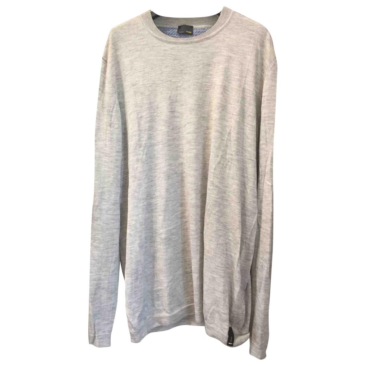 Fendi \N Beige Cashmere Knitwear & Sweatshirts for Men 56 IT