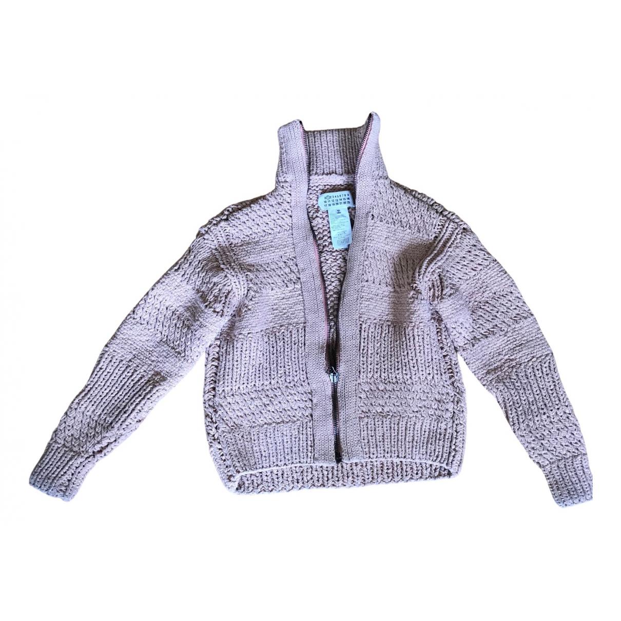 Maison Martin Margiela \N Pink Cotton Knitwear for Women 36 FR