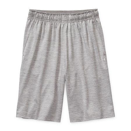 Xersion Little & Big Boys Moisture Wicking Basketball Short, X-small (6-7) , Gray