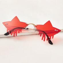 Gafas de sol en forma de estrella
