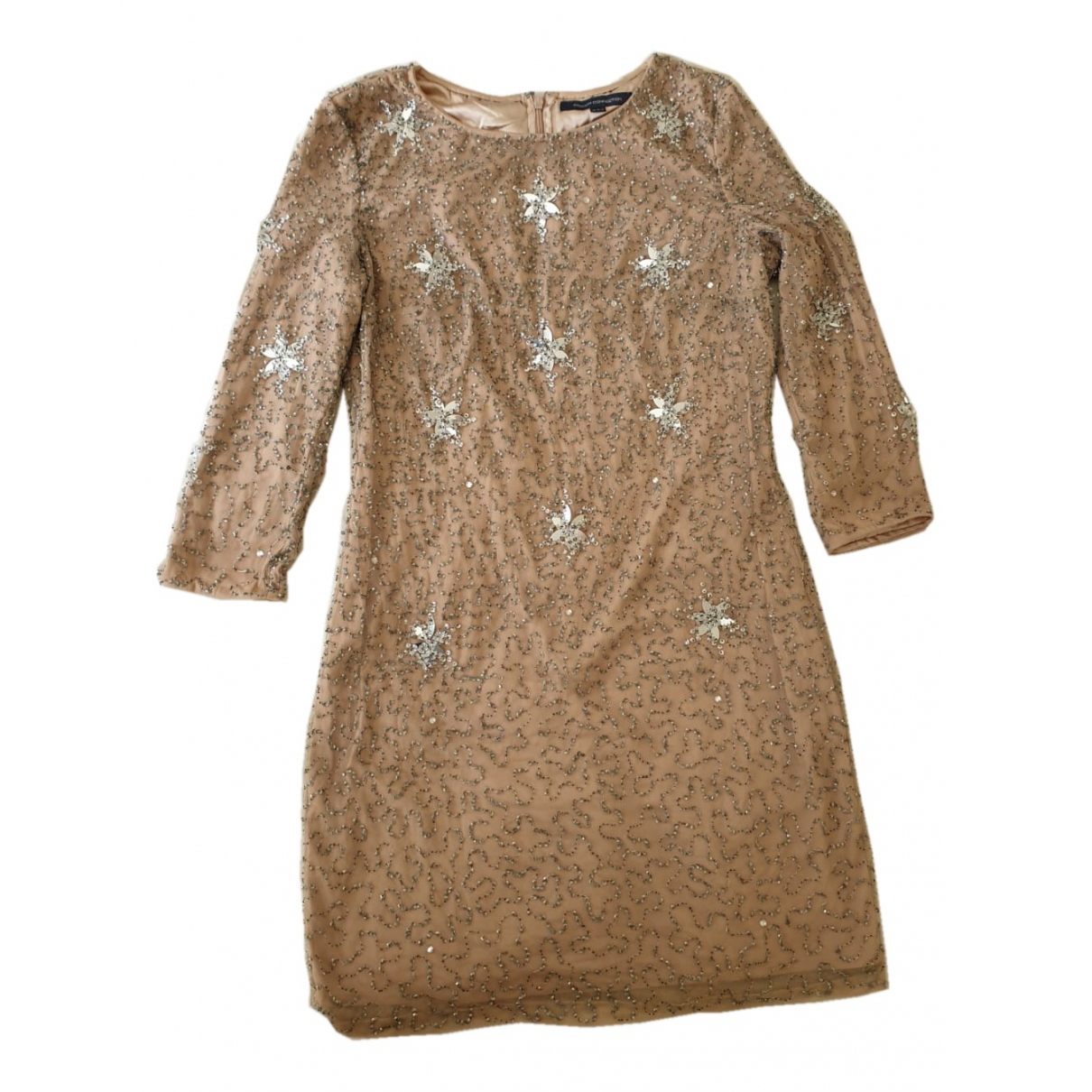 French Connection \N Kleid in  Metallic Spitze