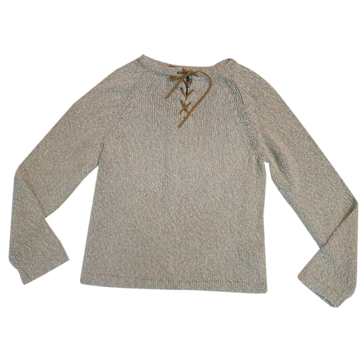 Marella - Pull   pour femme en coton - ecru