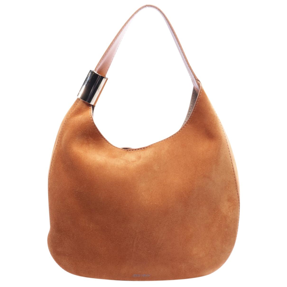 Jimmy Choo N Brown Leather handbag for Women N