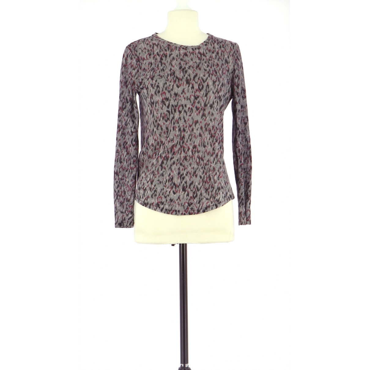 Comptoir Des Cotonniers - Pull   pour femme en lin - gris