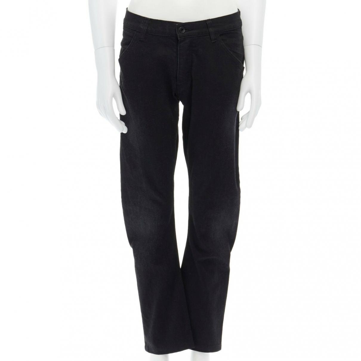 Attachment \N Black Denim - Jeans Trousers for Men S International