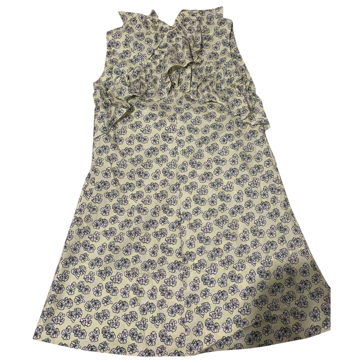 Marni \N Yellow Cotton dress for Women L International