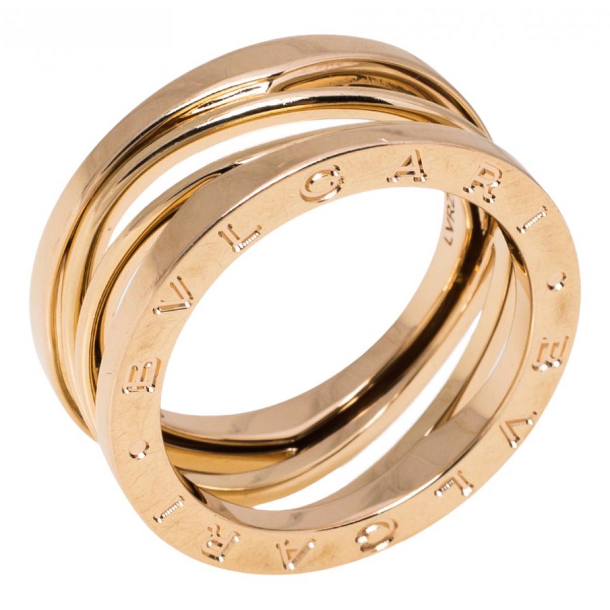 Bvlgari B.Zero1 Pink gold ring for Women 56 EU