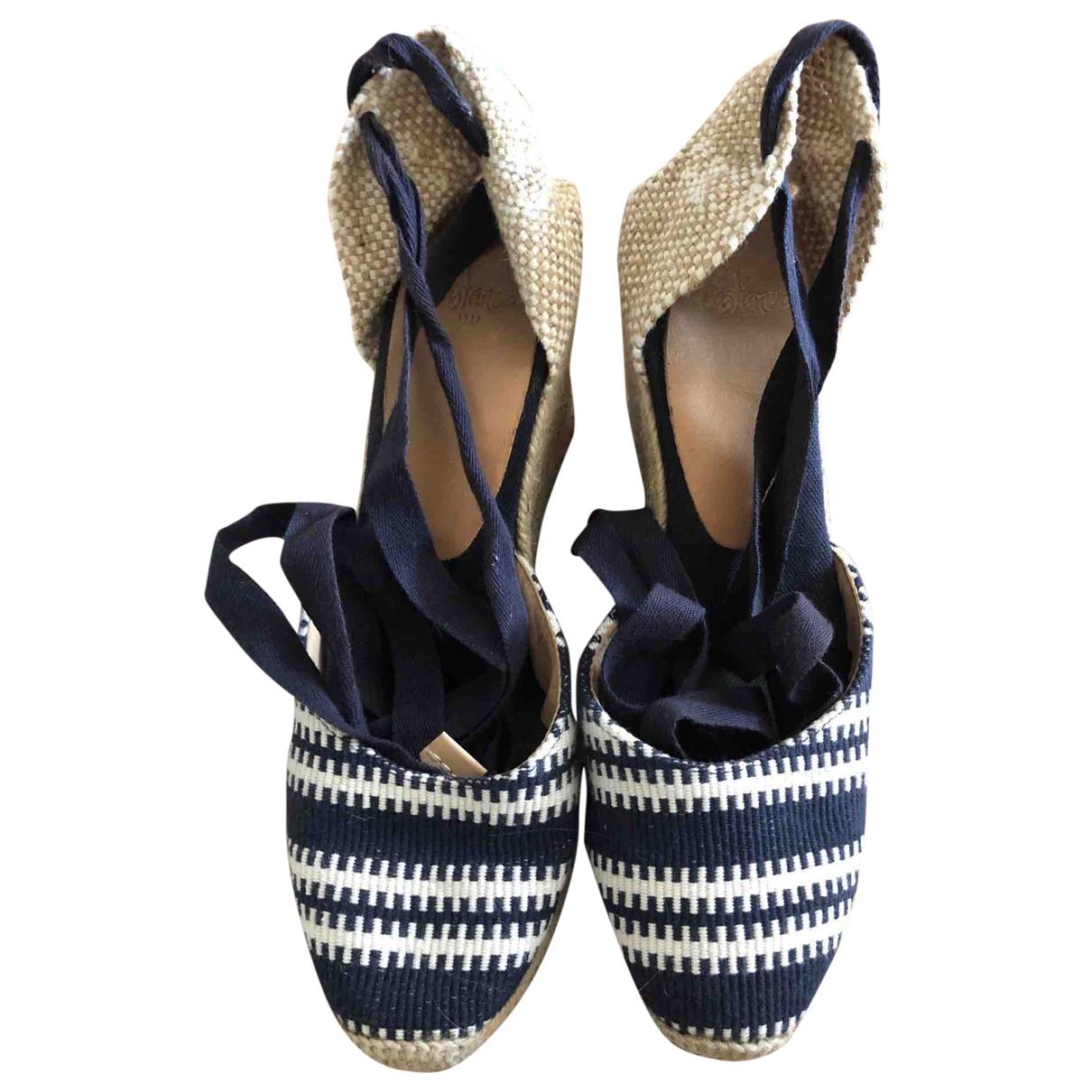 Castaner \N Blue Cloth Espadrilles for Women 39 EU