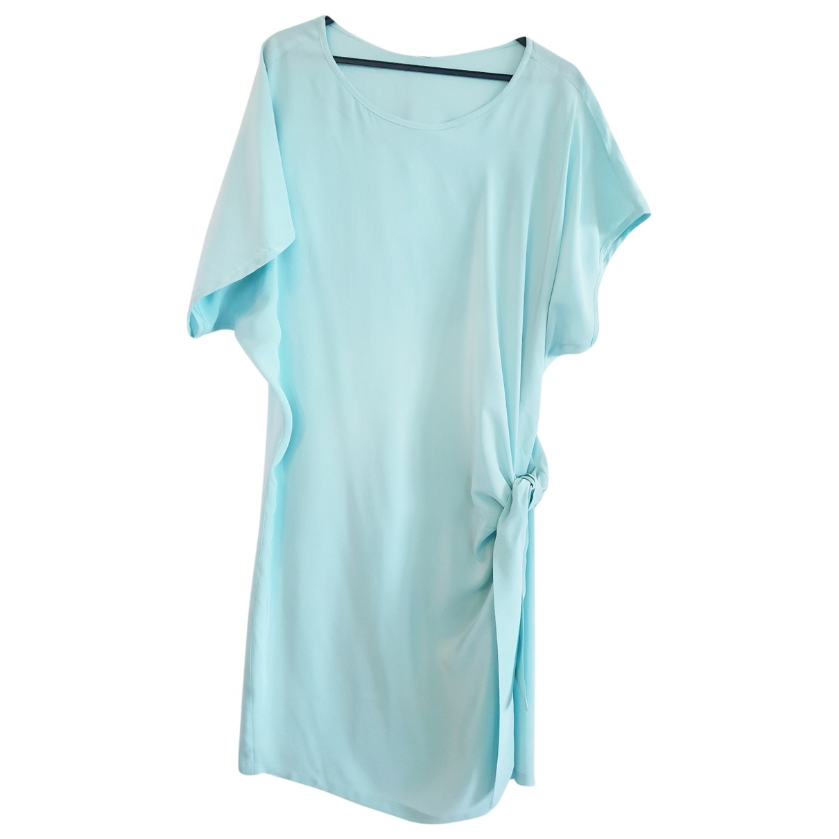 Max & Moi \N Turquoise Silk dress for Women 42 FR