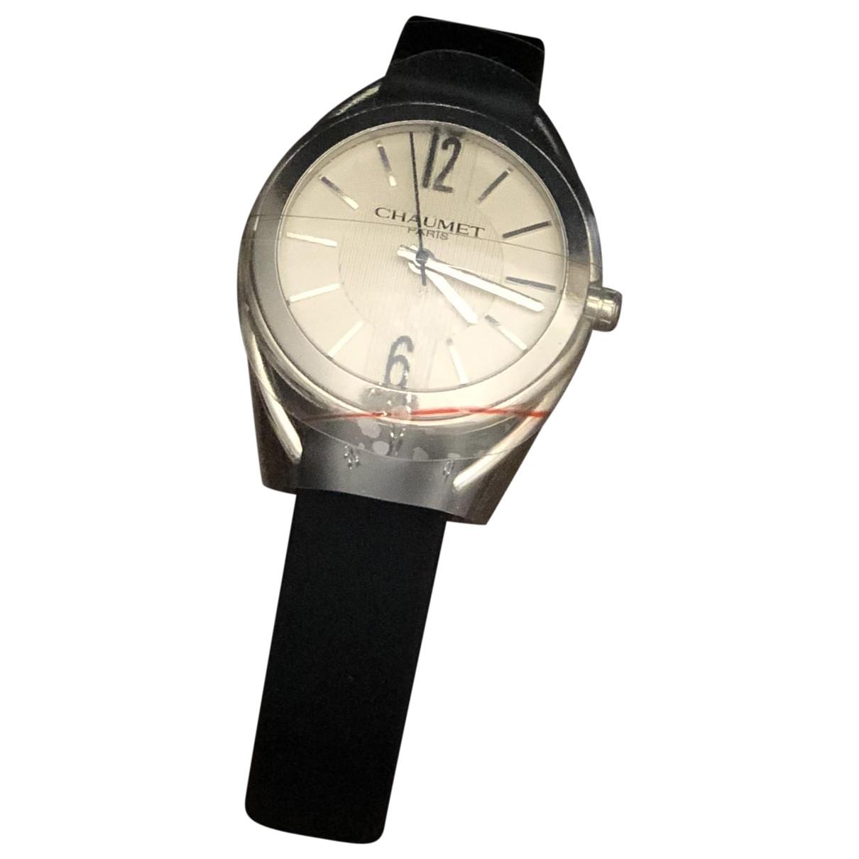 Chaumet \N Uhr in  Silber Stahl