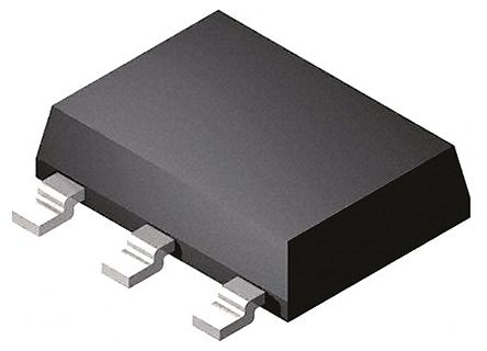 ON Semiconductor NCP1012ST100T3G, PWM Current Mode Controller, 550 mA, 110 kHz, -0.3 → 10 V, 3 + Tab-Pin SOT-223 (20)