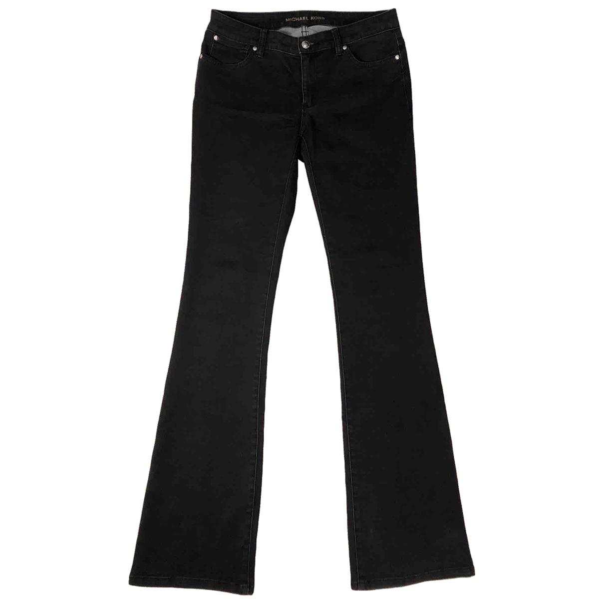 Michael Kors \N Black Cotton Jeans for Women 27 US